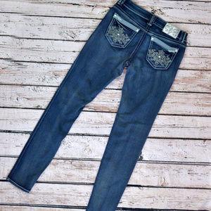 Hydraulic Super Skinny Bailey Jeans Dark Crystals